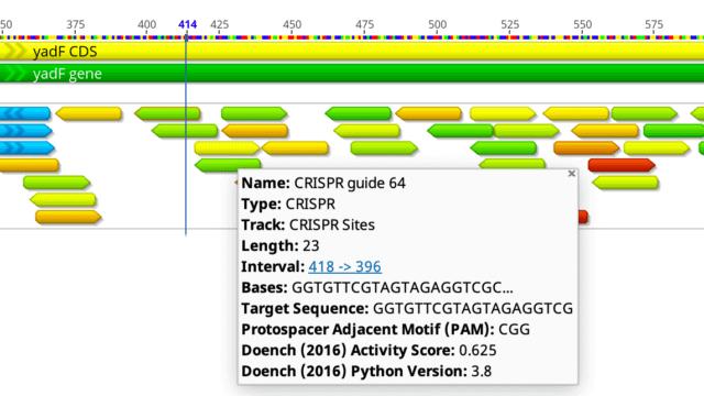 Cloning - Find CRISPR Sites